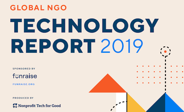 Cover of the Global NGO Technology 2019 report